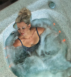 Wellness Whirlpoolmatte